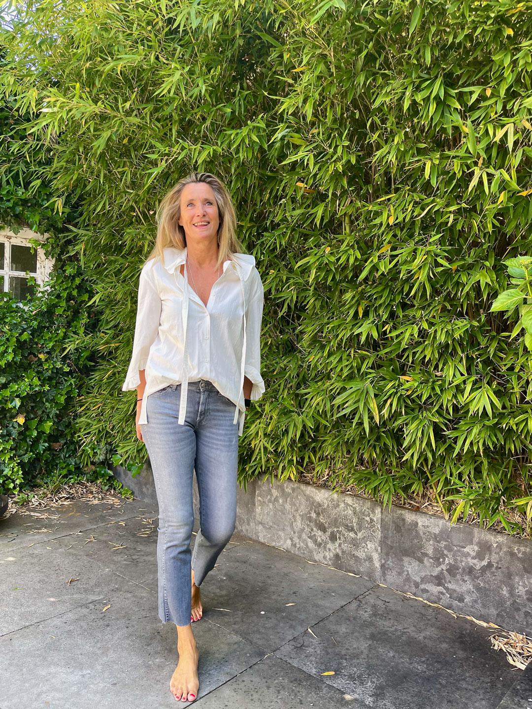 Baum und Pferdgarten Muneera Blouse & 7 For All Mankin Ankle Boot Slim Illusion Genuine