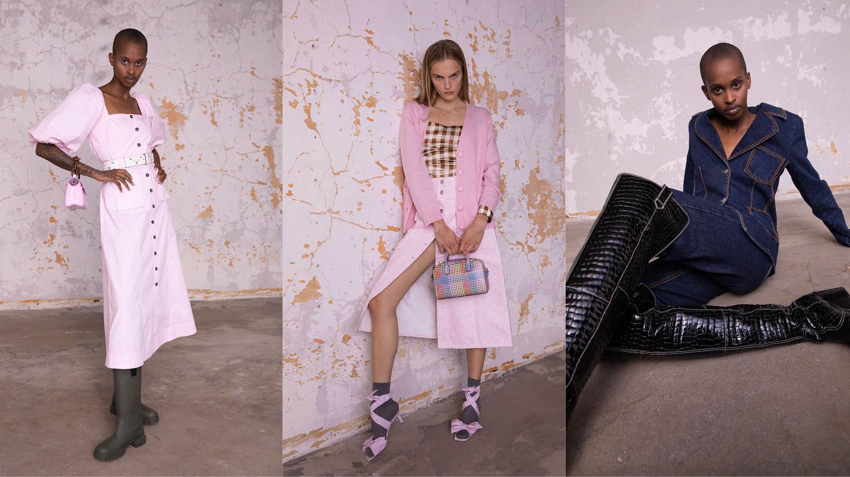 Bekijk en Bestel Ganni bij Bloom Fashion in Laren