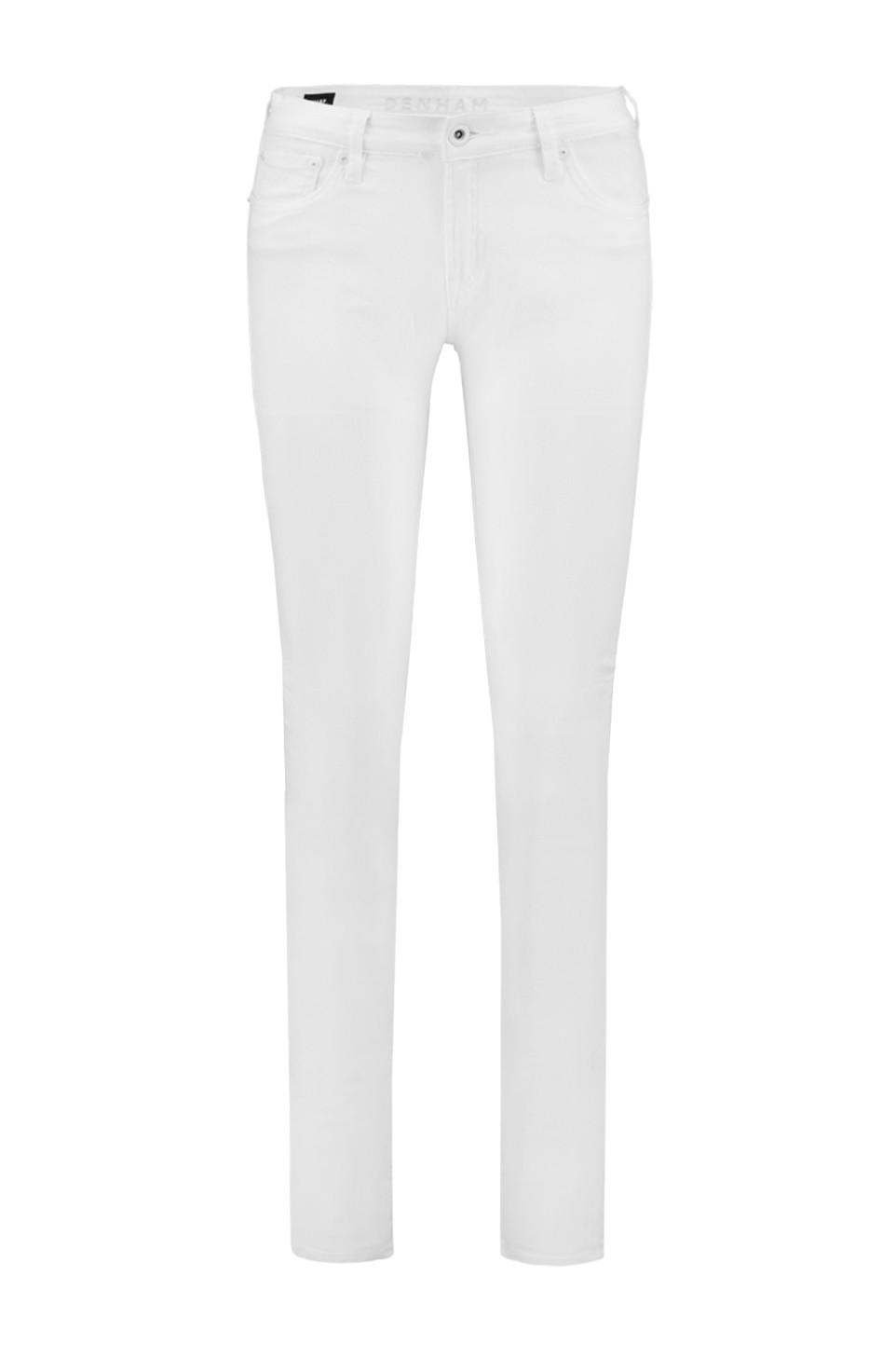 Denham Sharp SWS Dames Jeans in Wit