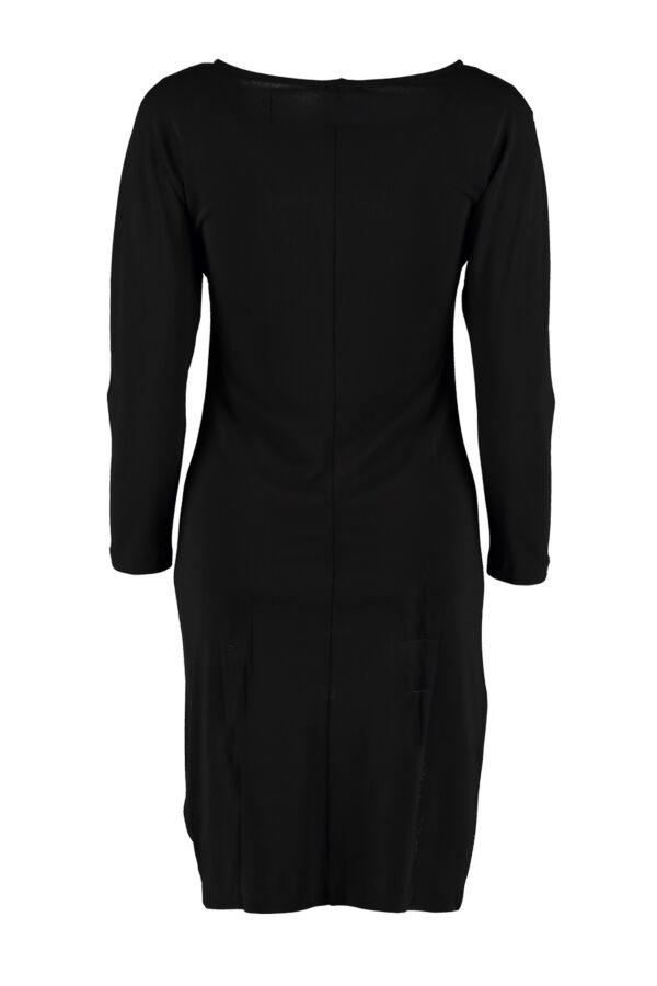 Filippa K Jurk 1-15-18632 Glitter Crepe Dress Zwart