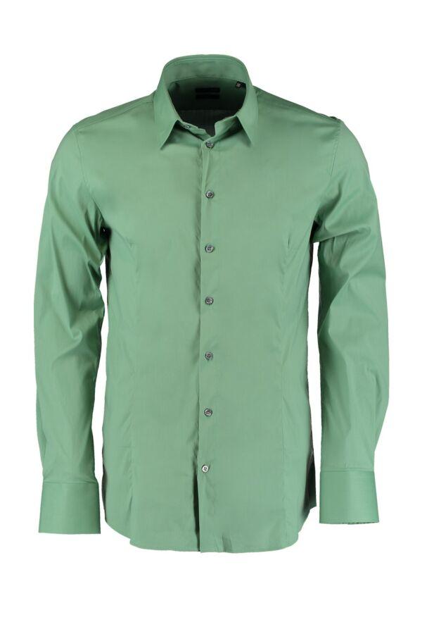 Patrizia Pepe Dave Shirt in Trek Green - 5C0017 A01 G290