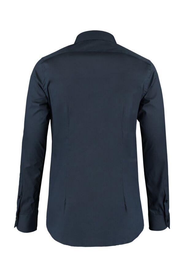 Bloom Fashion Heren Shirt in Donkerblauw - 533ML 016