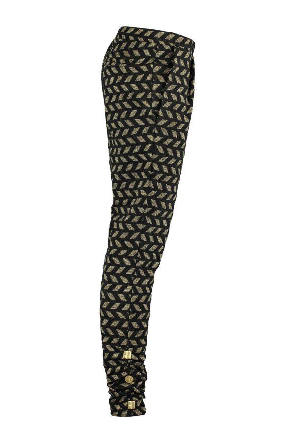 ByDanie Dames Trousers in Gold - 14W1 3006