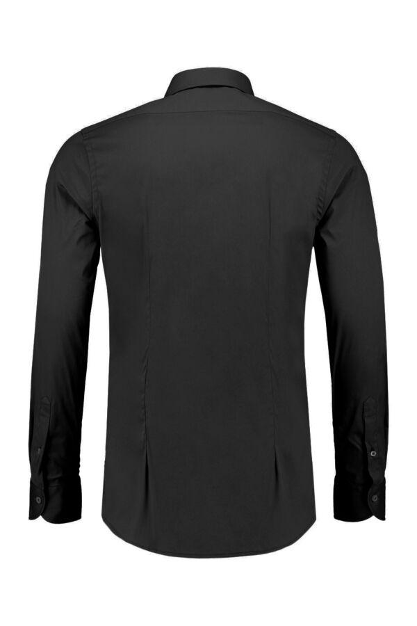 Bloom Fashion Heren Shirt in Zwart - 533ML 019