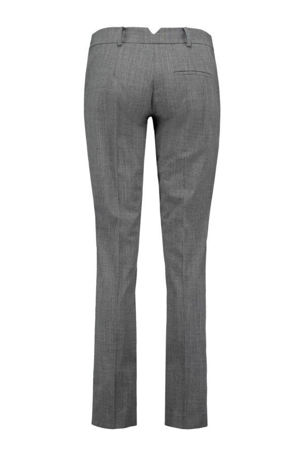 Patrizia Pepe Pantalon Wol Stretch 2P0780 A02 Grijs
