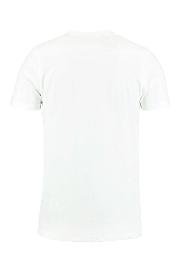 Filippa K Lycra V-Neck White - 17216 1009