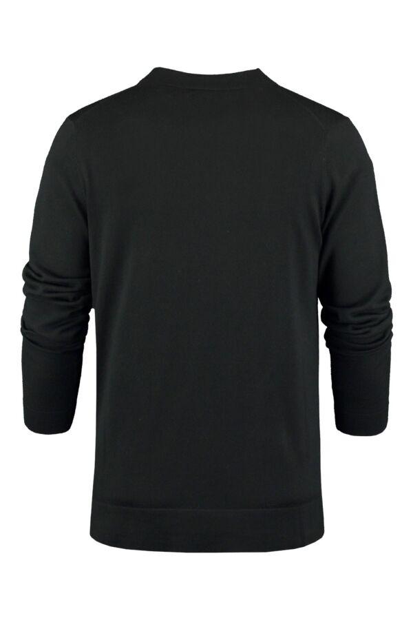 Filippa K Fine Merino Cardigan in Black - 2-9-17524 914330