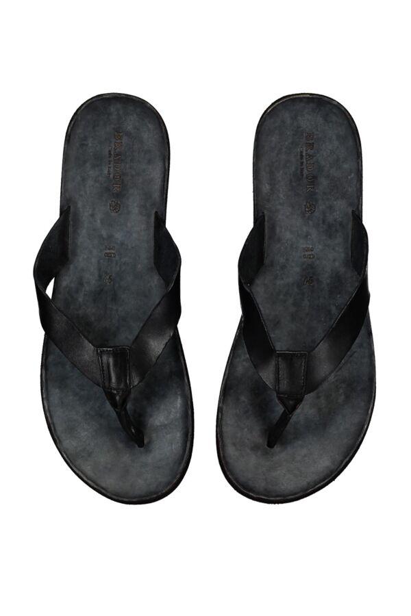Brador Teenslipper in Black - 23140