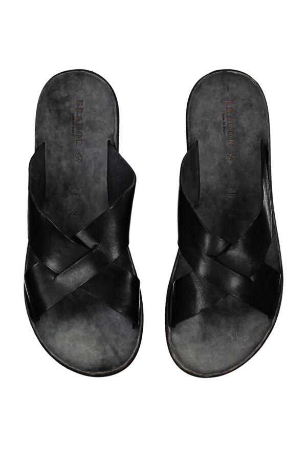 Brador Slipper in Black - 23144