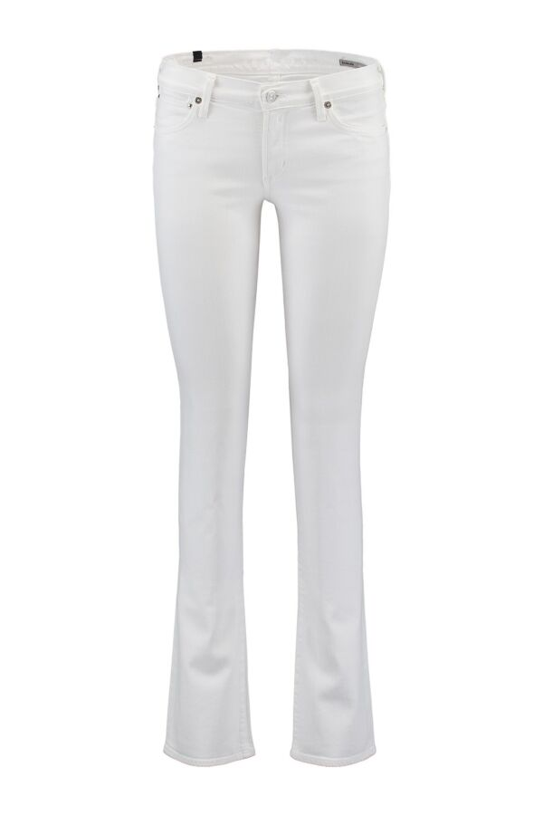 Citizens of Humanity Emannuelle Slim Bootcut Jeans in Optic White - 1472 547