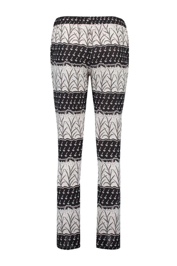 Bydanie Boho Print Pants in Black - 15 S2 3001 S199