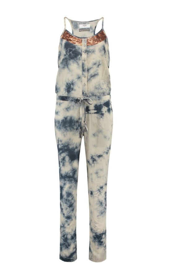 ByDanie Tye Dye Jumpsuit in Faded Blue - 15 S2 3201 S163