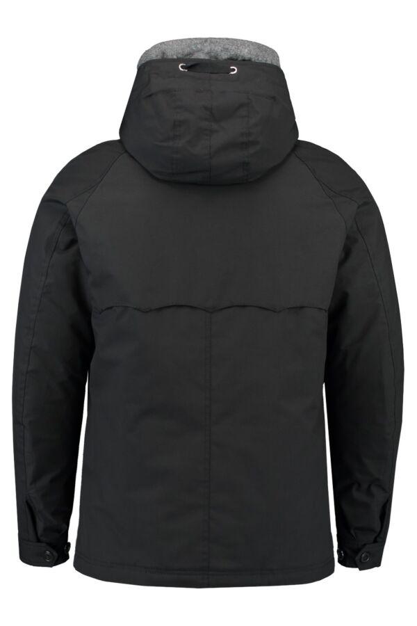 Baracuta G4 Padded Hood Barapel Jacket in Black - 01BRMOW0106FBA01 9001