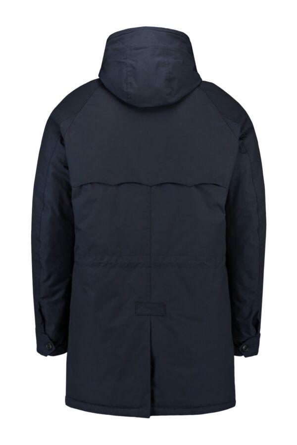 Baracuta Eskimo Barapel Coat in Marine - 01BRMOW0100FBA01 5005