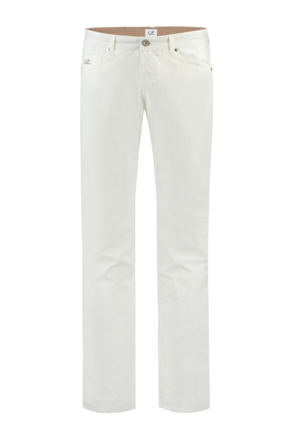 C.P. Company Slim Fit 5-Pocket in Off-White - 16SCPUP03118 002794 101