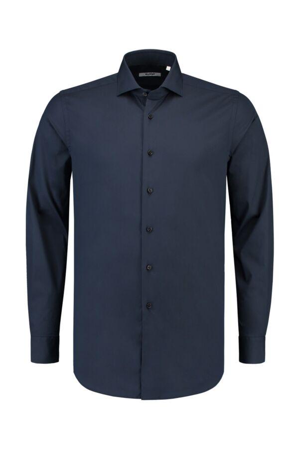Bloom Fashion Shirt in Donkerblauw - 558ML 016