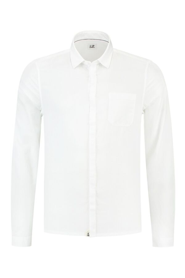 C.P. Company Shirt in Wit - 16SCPUS01270 004067 101