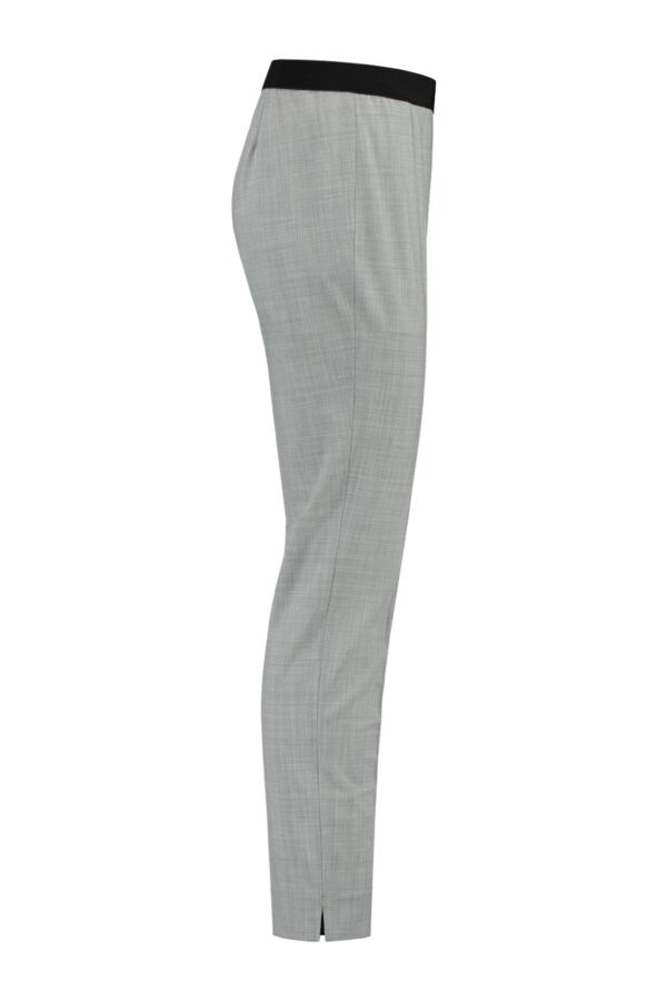 Incotex Pantalon Licht Grijs Melange 172499