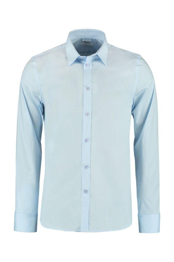 Filippa K M. Paul Stretch Shirt in Light Blue - 22844 1094