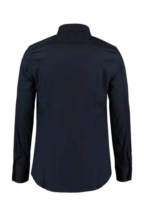 Filippa K M. Paul Stretch Shirt in Navy - 22844 2844