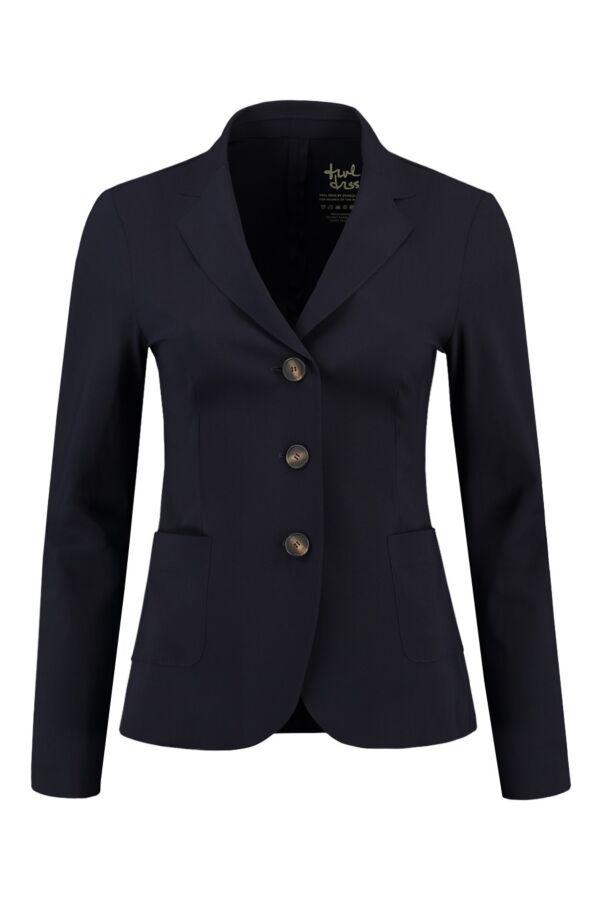 Zenggi Jacket in Ink Blue - 08 T1001 14 570