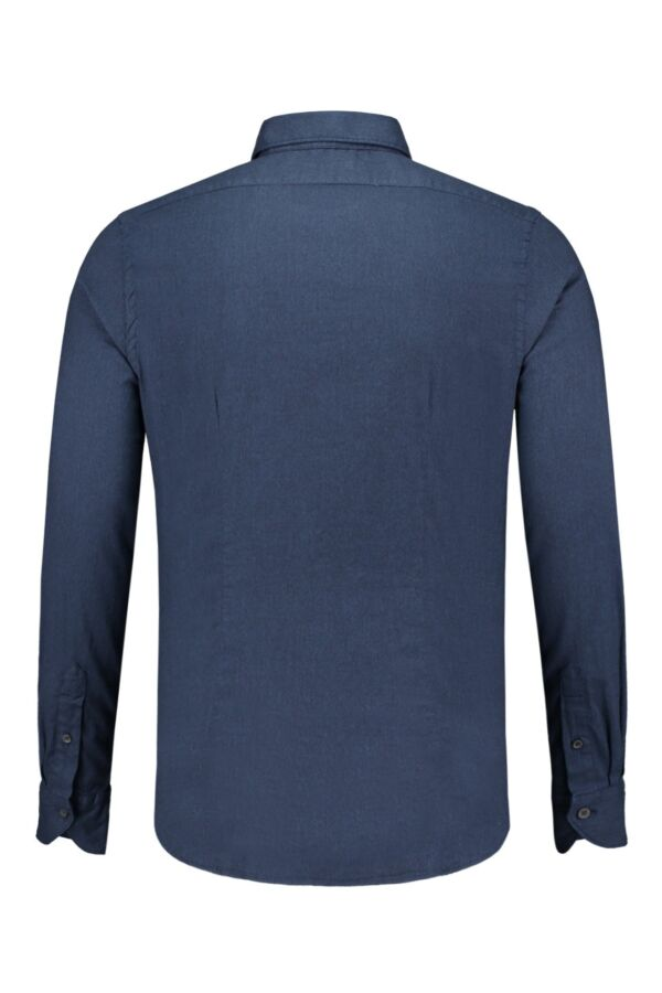 Bloom Fashion Shirt Brushed Cotton 722ML 700 navy