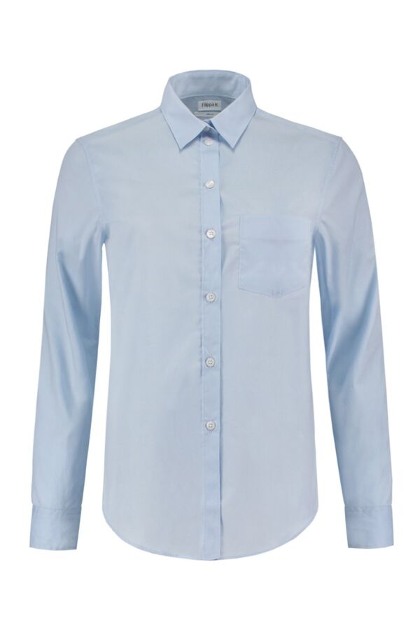 Filippa K Damesshirt 18823 Classic Shirt Lt Blue