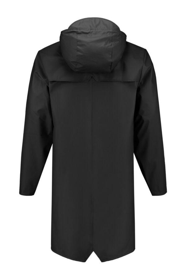 Rains Heren Jacket 1202 Long Jacket Black