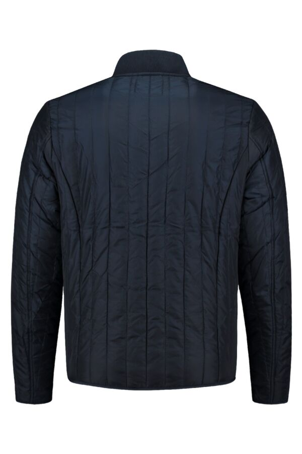 Knowledge Cotton Apparel Worker Jacket in Total Eclipse - 92209 1001