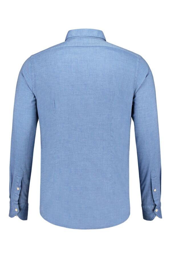 Bloom Fashion Shirt Brushed Cotton 722ML 700 Blauw