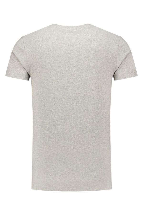 Calvin Klein Jeans Buck Tee VN in Light Grey Heather - J3EJ303546 038