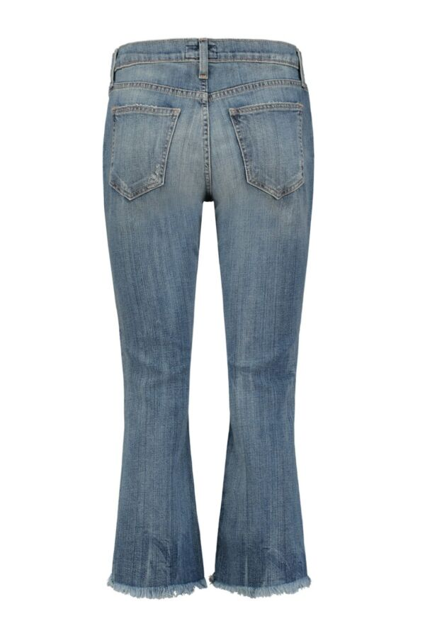 Current Elliott The Cropped Flip Flop Jeans 1811 0400