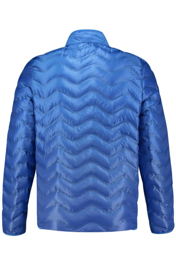 Knowledge Cotton Apparel PET Wave Quilted Jacket in Turkish See - 92246 1203