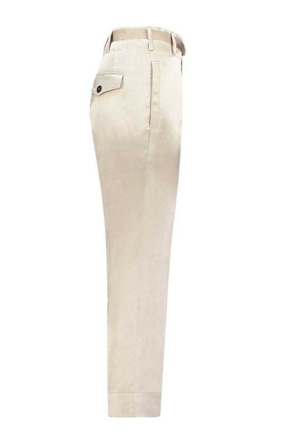 Incotex Pantalon 171603 D9400 Beige Glans