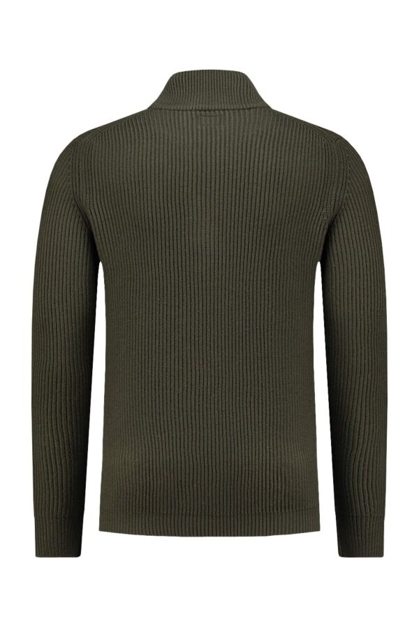 C.P. Company Pullover in Dark Olive - 03CMKN105A005106A 679