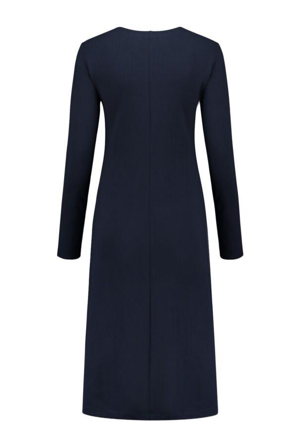 Filippa K V-Neck Dress in Navy - 24145 2830