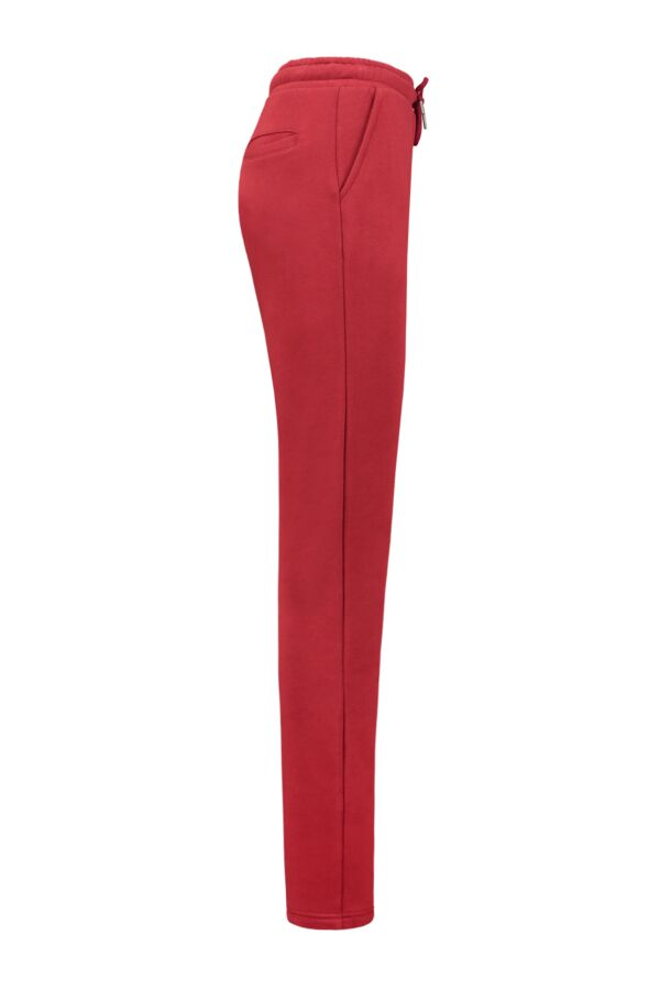 Belgian Company Dames Joggerpants Kaat in Red Dahlia 12673 4700