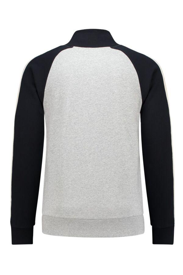 Belgian Company Heren sweatervest 12705 6381 Heather Grey