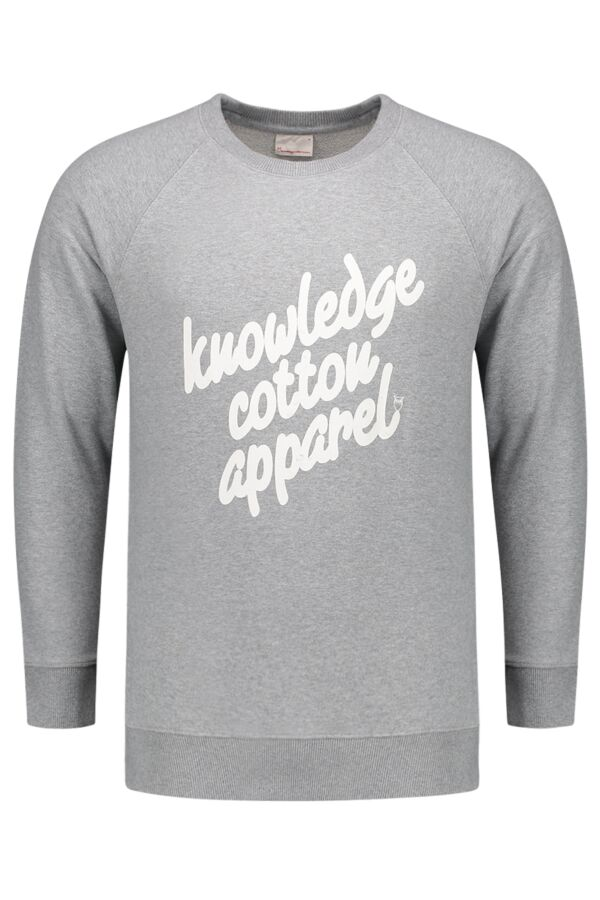 Knowledge Cotton Apparel Sweater w/ Knowledge Print - 30356 1012