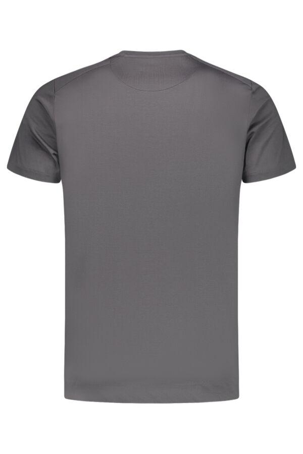 Limitato T-Shirt Lawless by Camilo Rios White in Grey