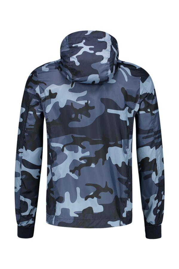 Blauer USA Jack Windbreaker Camo 18SBLUC04067-004972 Blauw