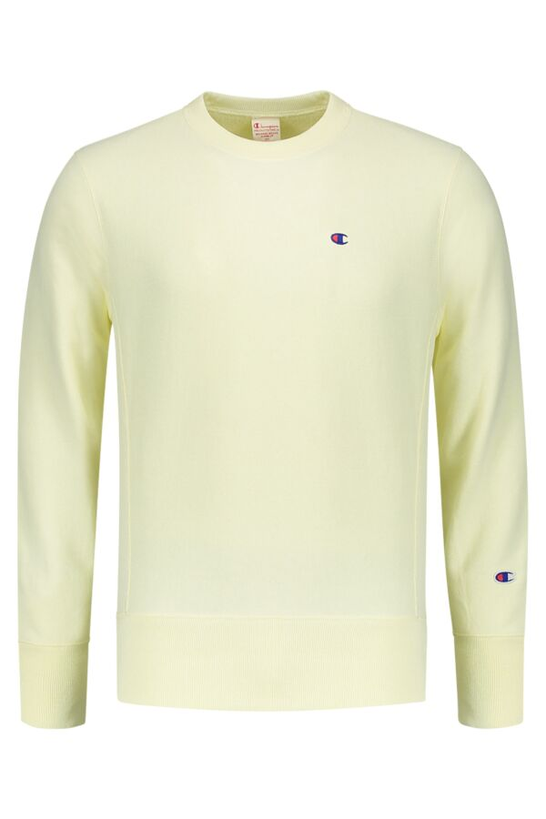 Champion Crewneck Sweatshirt in Faded Yellow - 210965 YS032 ETG