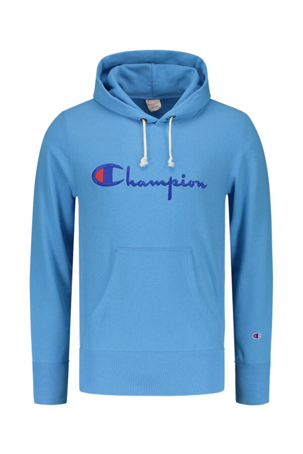 Champion Hooded Sweatshirt in Azur Blue - 210967 BS034 AZB