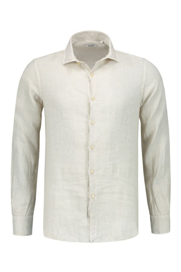Bloom Fashion Linnen Shirt Sand - 748ML 21125 002
