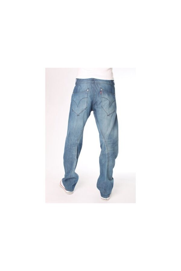 Levis Guys Relax Jean Blue Stripper lengte 34