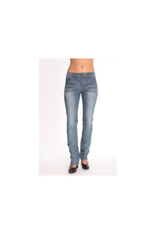 Acne jeans - Hex Clone - Slim Fit - Kleur blauw -lengte 32