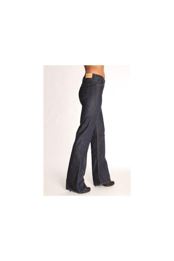 Acne jeans - l.u.v. -Straight Fit - kleur blauw -  lengte 34