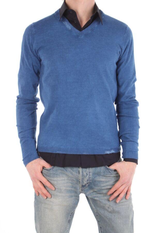 Pullover v-hals en lange mouw