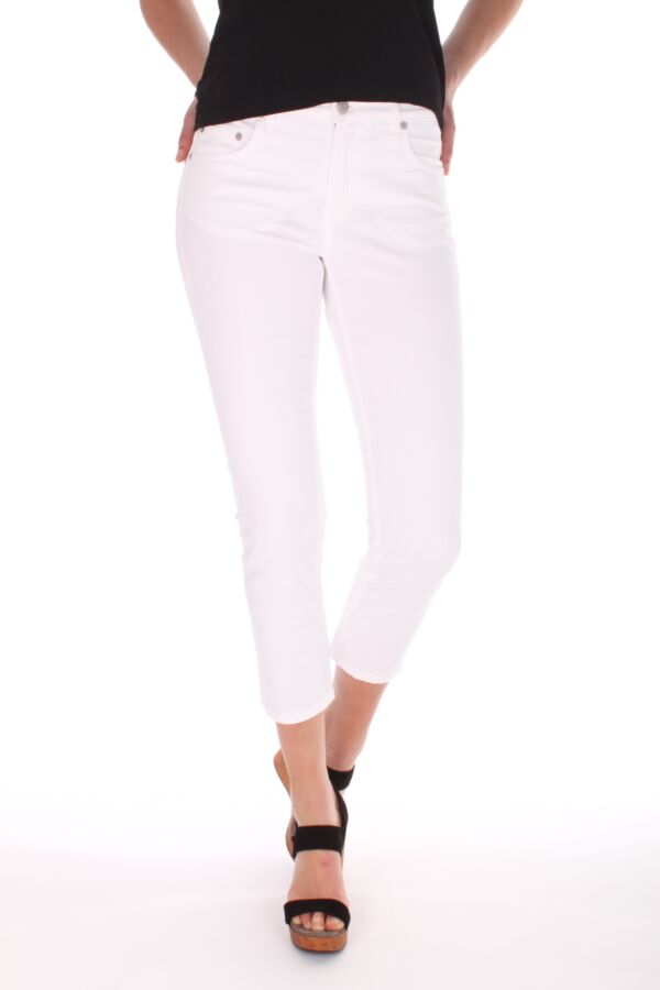 Niki Crop Twill Jeans