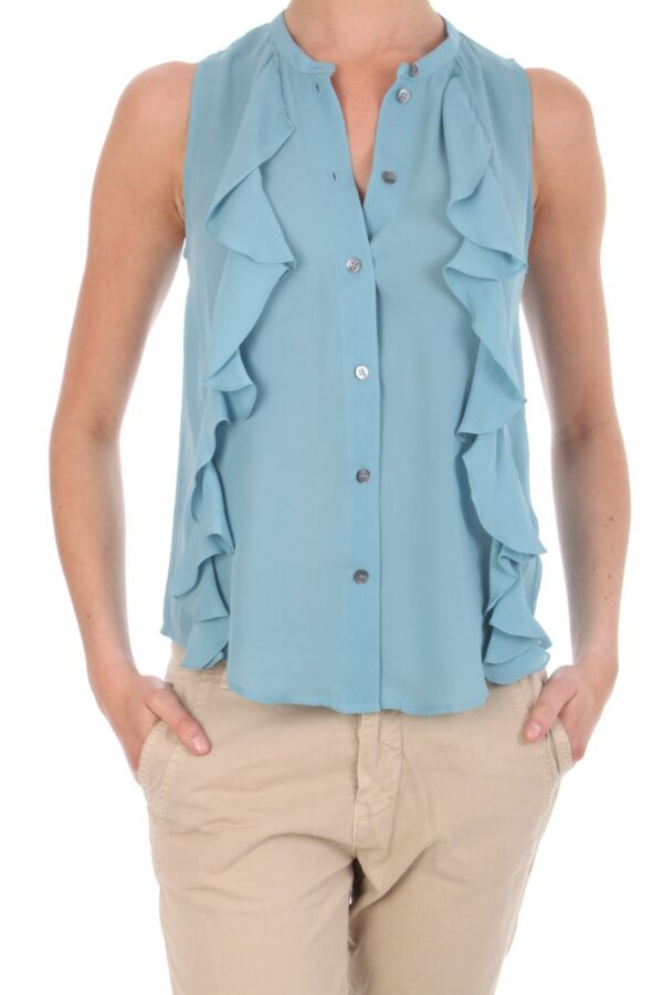 Frill Party Blouse